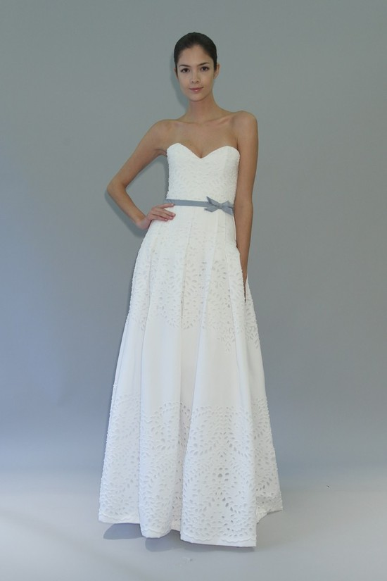 wedding dress fall 2012 bridal gowns carolina herrera harmony
