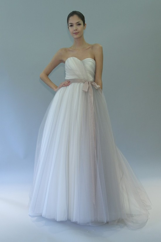 wedding dress fall 2012 bridal gowns carolina herrera hannah