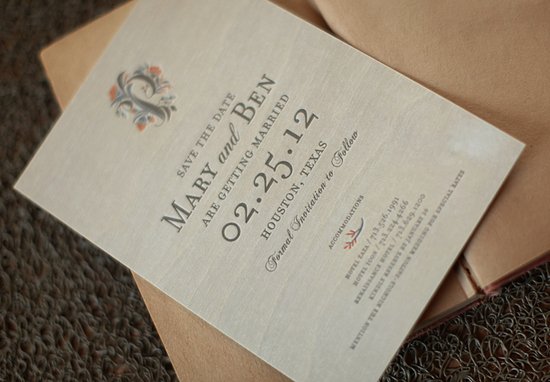 wood wedding save the dates rustic elegant wedding stationery