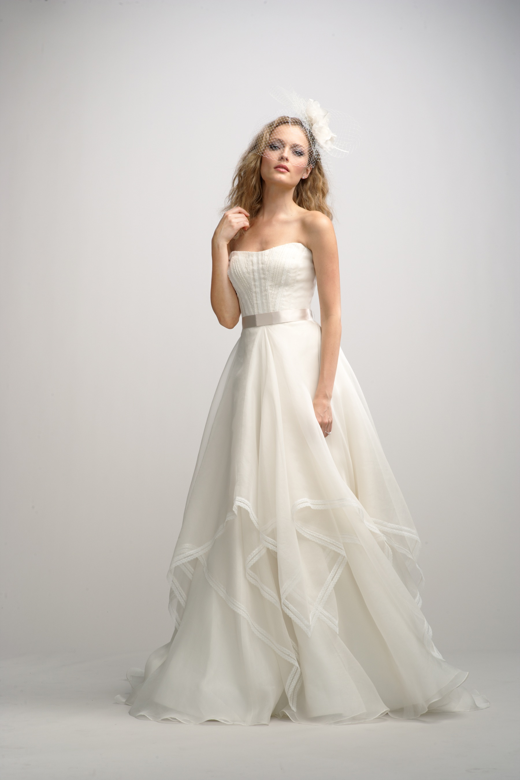 Watters Wedding Dress with Pockets