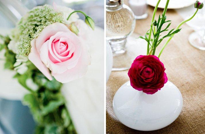Light-pink-dark-pink-wedding-color-palette-reception-centerpieces-ceremony-wedding-flowers.full