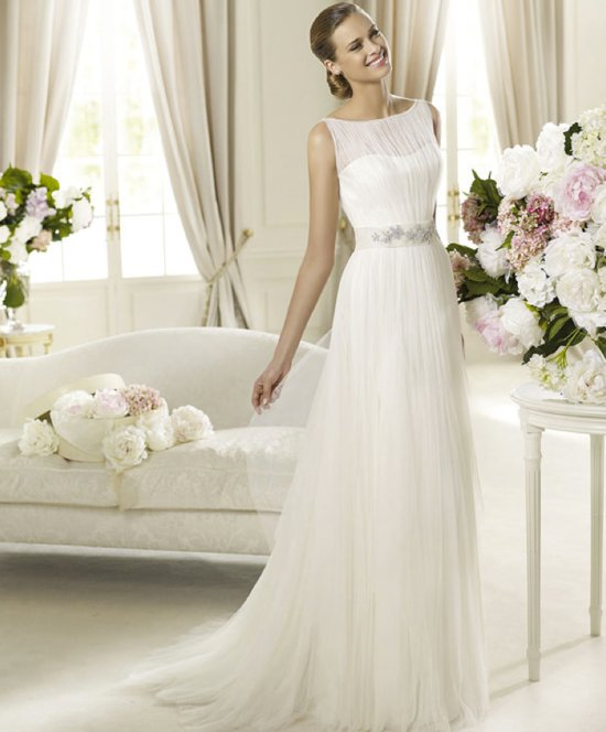 2013 wedding dress Pronovias bridal gowns fashion collection Derby
