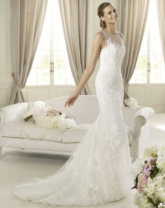 2013 wedding dress Pronovias bridal gowns fashion collection Distel