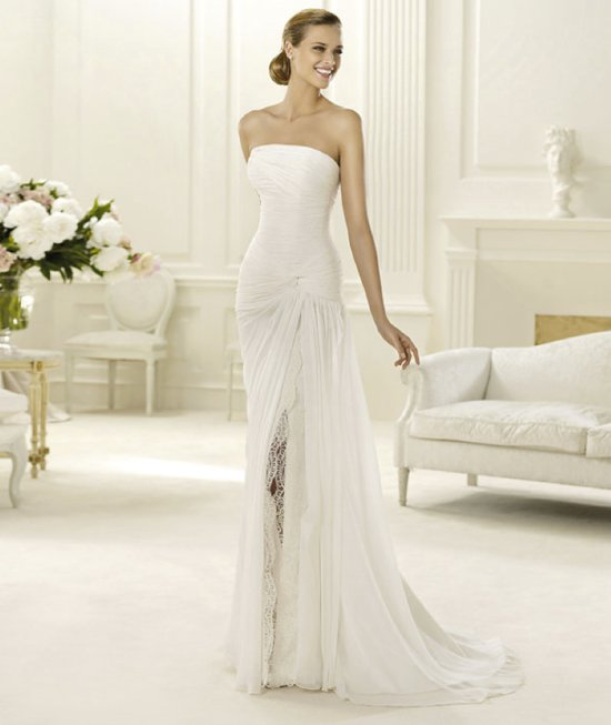 2013 wedding dress Pronovias bridal gowns fashion collection Dahir
