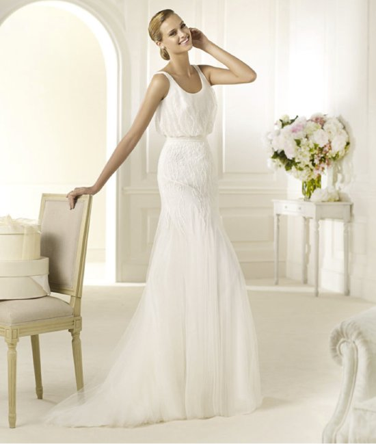 2013 wedding dress Pronovias bridal gowns fashion collection Dehesa