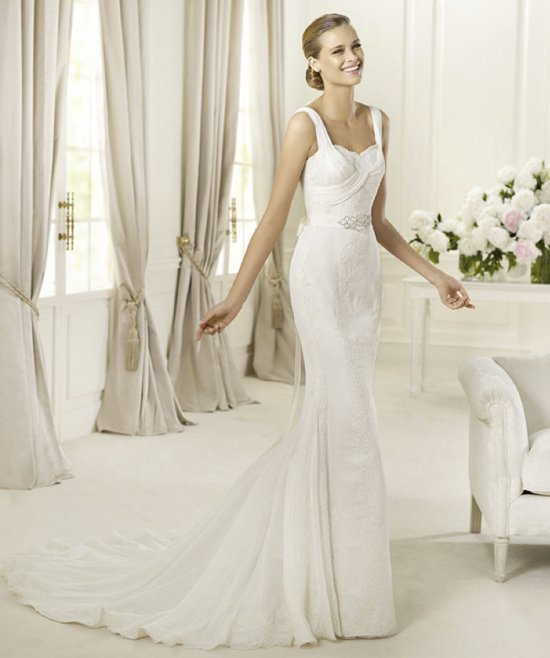2013 wedding dress Pronovias bridal gowns fashion collection Dia