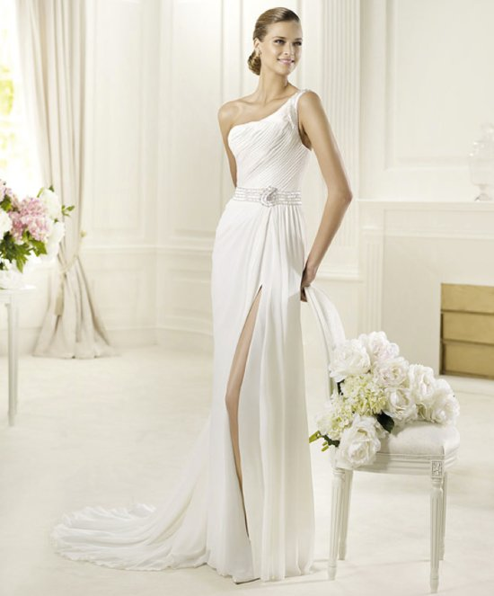 2013 wedding dress Pronovias bridal gowns fashion collection Deva