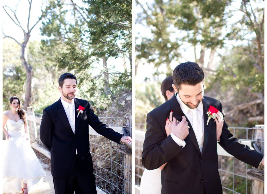 First-look-wedding-photos-black-white-red-wedding.full