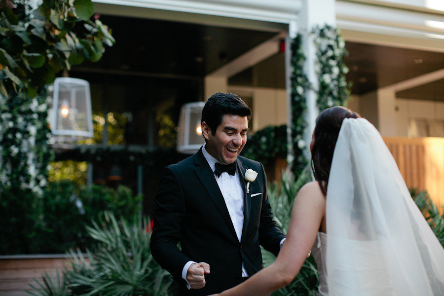wedding photography first looks between bride and groom real wedding photos 2