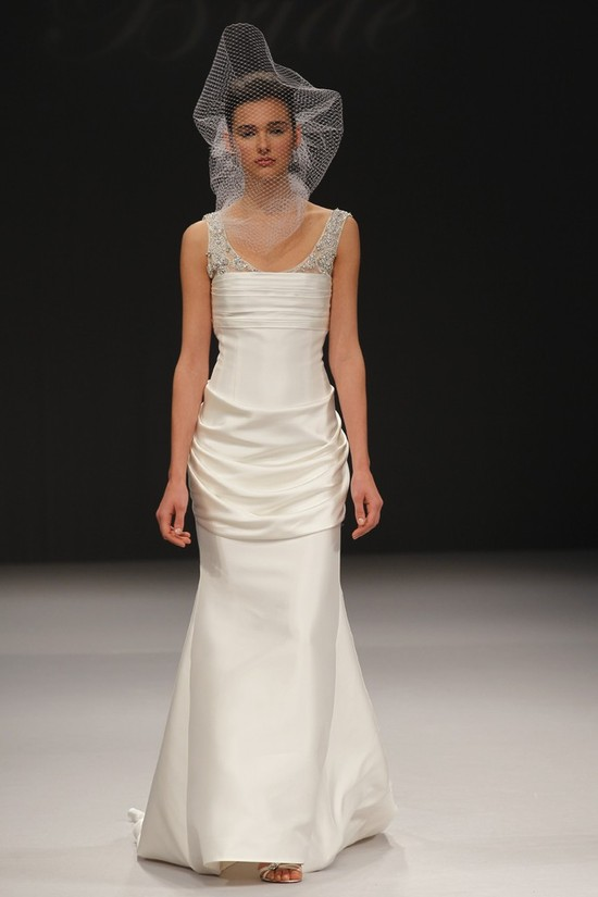 wedding dress spring 2012 bridal gowns badgley mischka olga