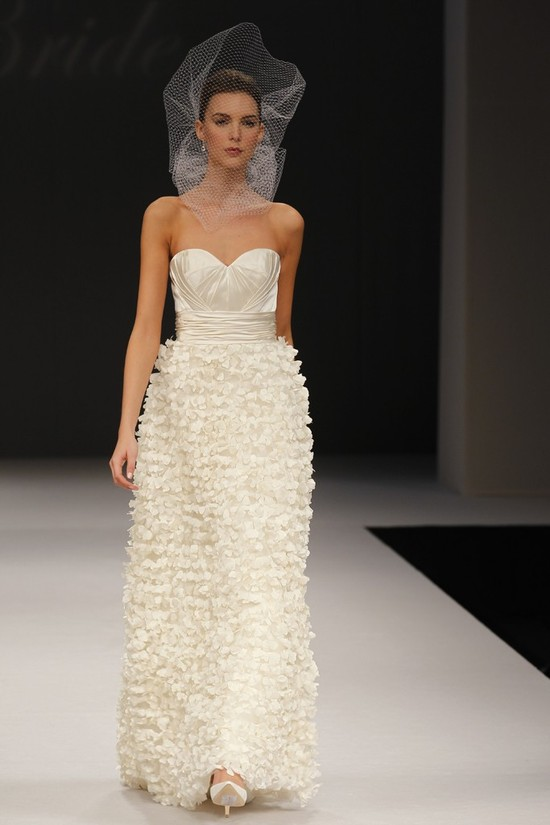 wedding dress spring 2012 bridal gowns badgley mischka melody