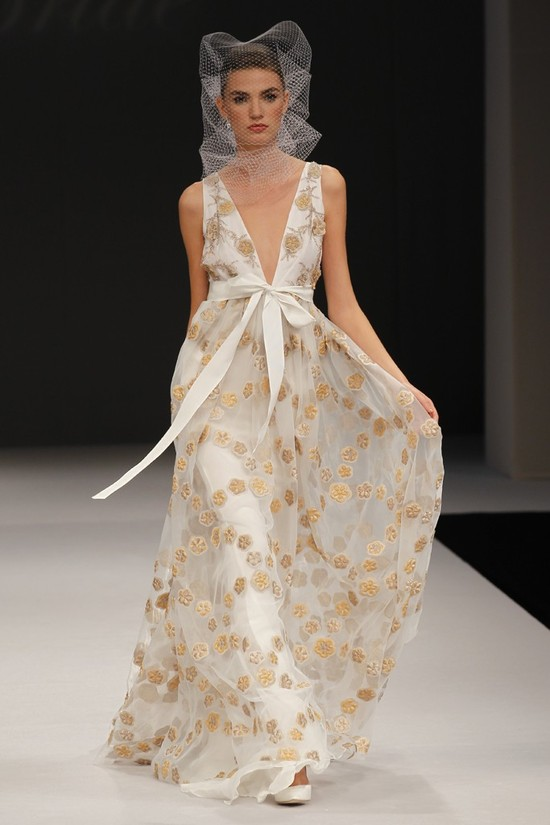 wedding dress spring 2012 bridal gowns badgley mischka melia