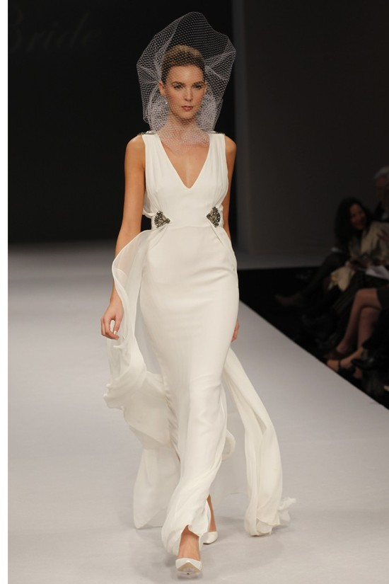 wedding dress spring 2012 bridal gowns badgley mischka honor