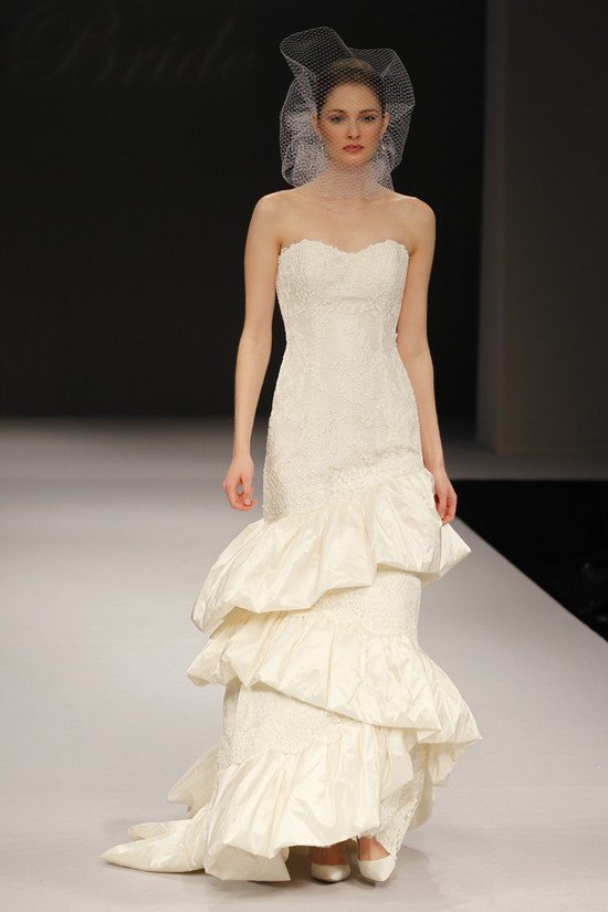wedding dress spring 2012 bridal gowns badgley mischka daphne
