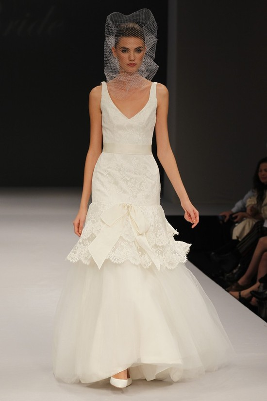 wedding dress spring 2012 bridal gowns badgley mischka charity