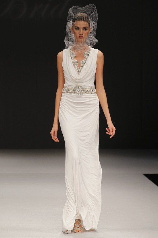 wedding dress spring 2012 bridal gowns badgley mischka celeste