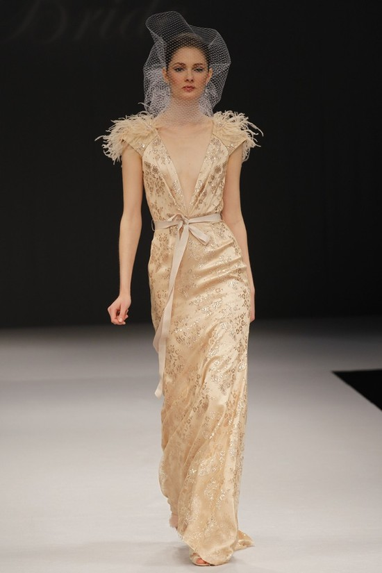 wedding dress spring 2012 bridal gowns badgley mischka cascadia