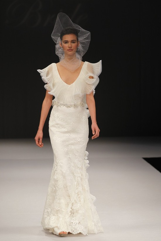 wedding dress spring 2012 bridal gowns badgley mischka calista