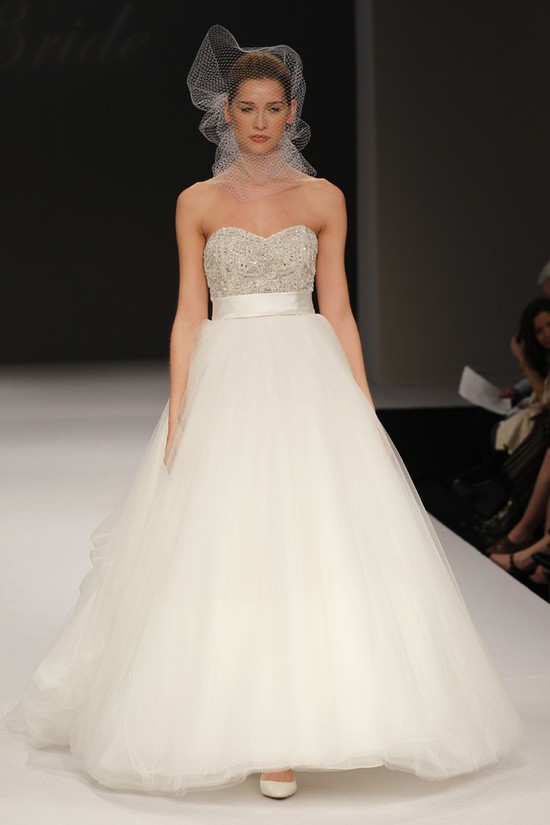 wedding dress spring 2012 bridal gowns badgley mischka ava