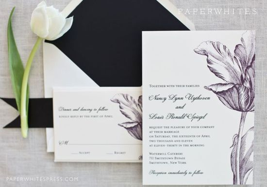 photo of Tulip Wedding Invitations