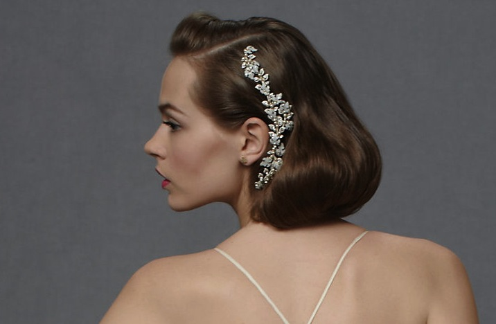 Bridals And Grooms Bidals Vintage Wedding Hairstyles With