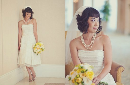 photo of Short & Chic Wedding Hairstyles