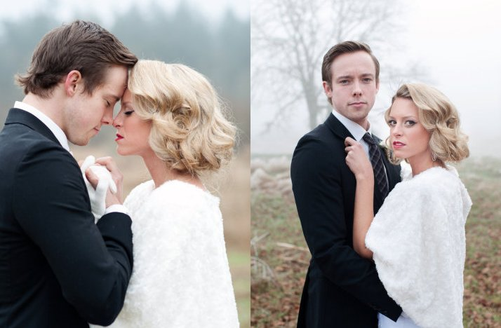 Short-wedding-hair-retro-waves-bob-winter-wedding.full