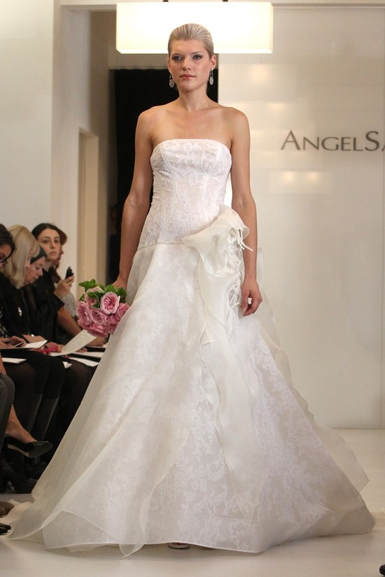 wedding dress 2012 bridal gowns angel sanchez 17
