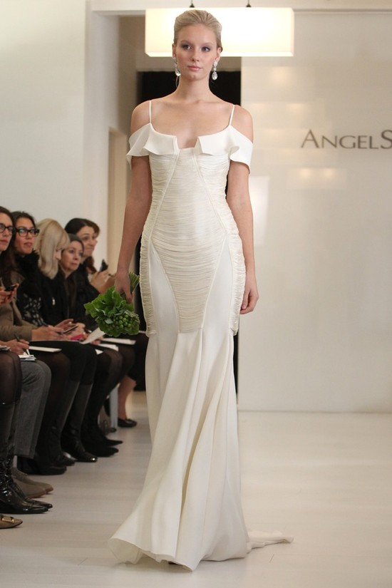wedding dress 2012 bridal gowns angel sanchez 6