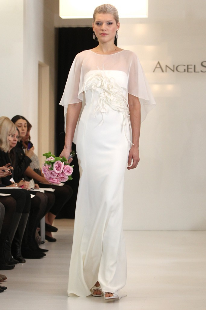 wedding dress 2012 bridal gowns angel sanchez 4