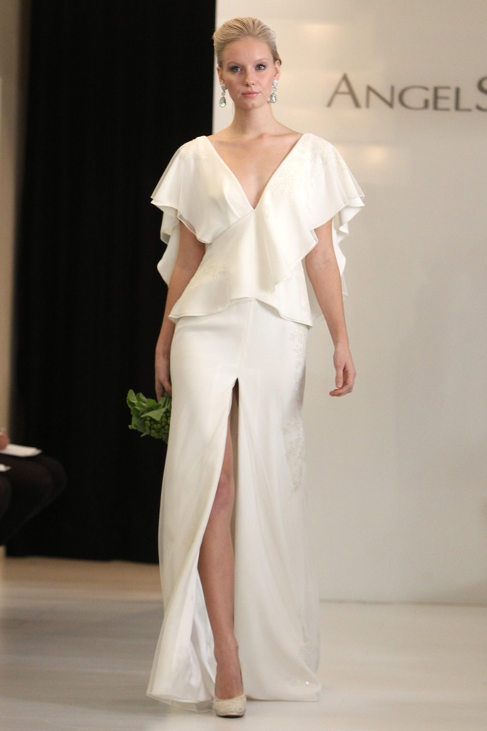 wedding dress 2012 bridal gowns angel sanchez 3