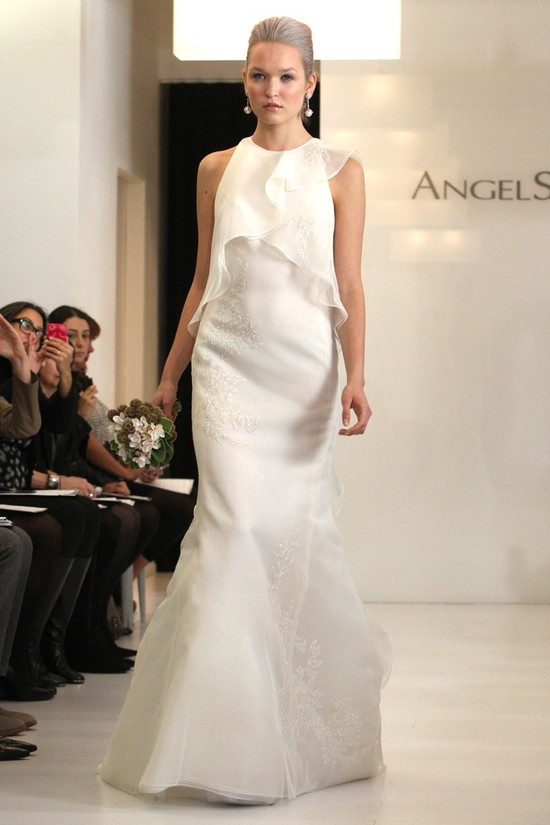 wedding dress 2012 bridal gowns angel sanchez 1