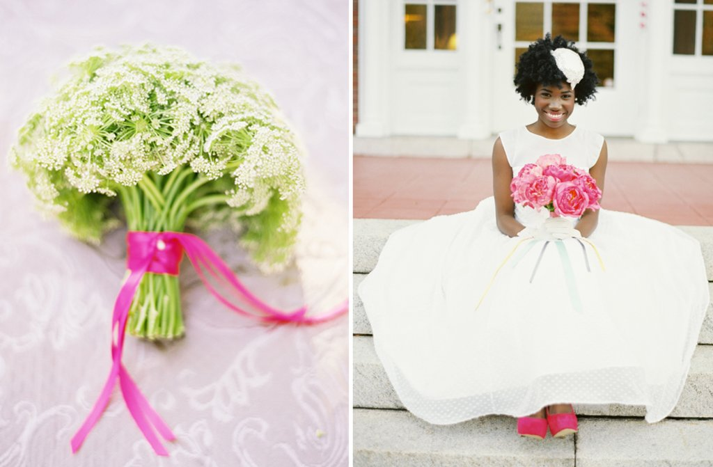 Simple-ivory-green-bridal-bouquet-pink-ribbon-tie-bridal-heels-peonies.full