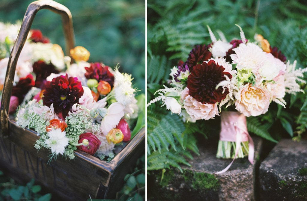 wedding flower inspiration from the brides cafe rustic wedding centerpiece bridal bouquet 2