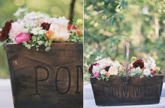wedding flower inspiration from the brides cafe rustic wedding centerpiece