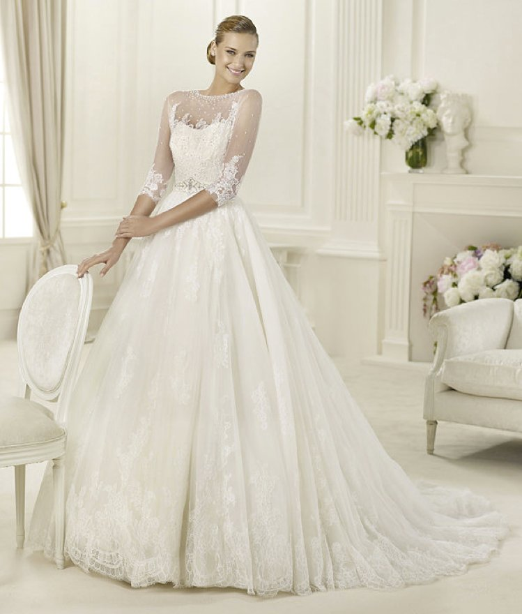 photo of 2013 wedding dress Pronovias Costura collection bridal gowns Dauco