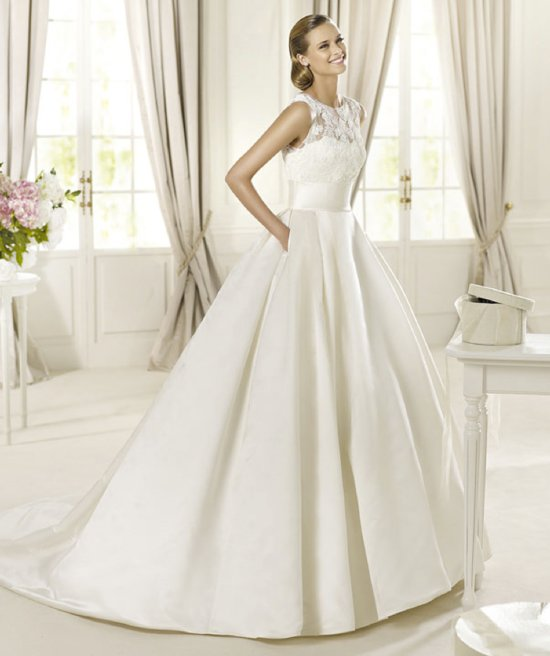 2013 wedding dress Pronovias Costura collection bridal gowns Dalia