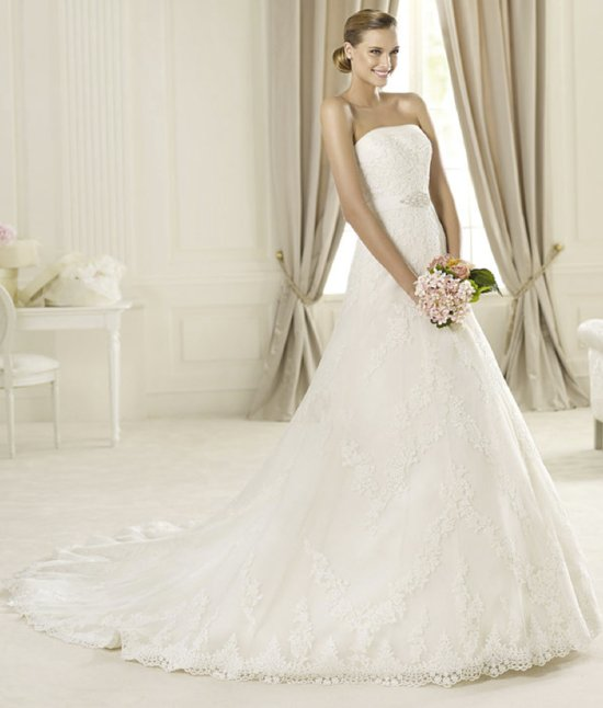 2013 wedding dress Pronovias Costura collection bridal gowns Dango