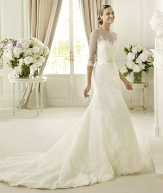 2013 wedding dress Pronovias Costura collection bridal gowns Danker