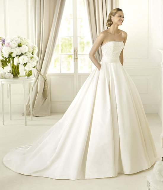 2013 wedding dress Pronovias Costura collection bridal gowns Dalamo