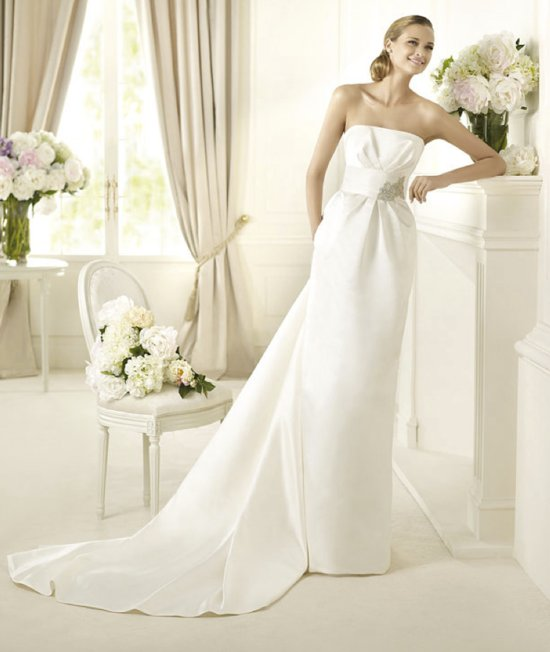 2013 wedding dress Pronovias Costura collection bridal gowns Dakar