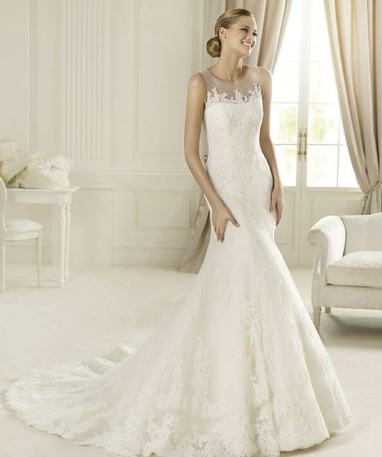 2013 wedding dress Pronovias Costura collection bridal gowns Danubio