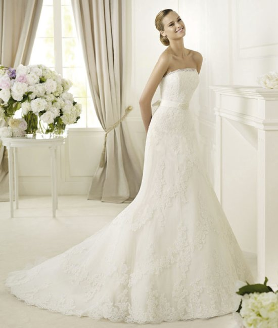 2013 wedding dress Pronovias Costura collection bridal gowns Danesa