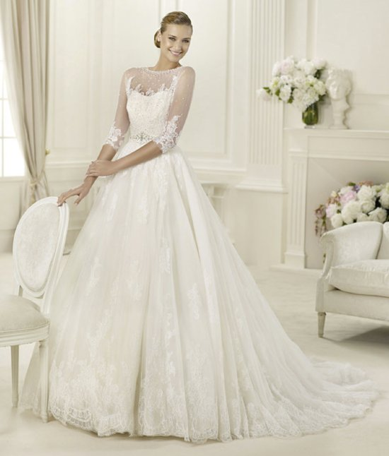 2013 wedding dress Pronovias Costura collection bridal gowns Dauco