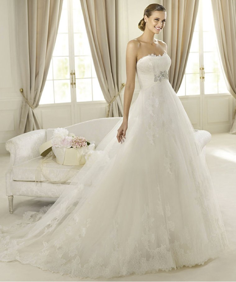 photo of Sheer Perfection: 11 Gorgeous Wedding Dresses from the 2013 Costura Bridal Collection