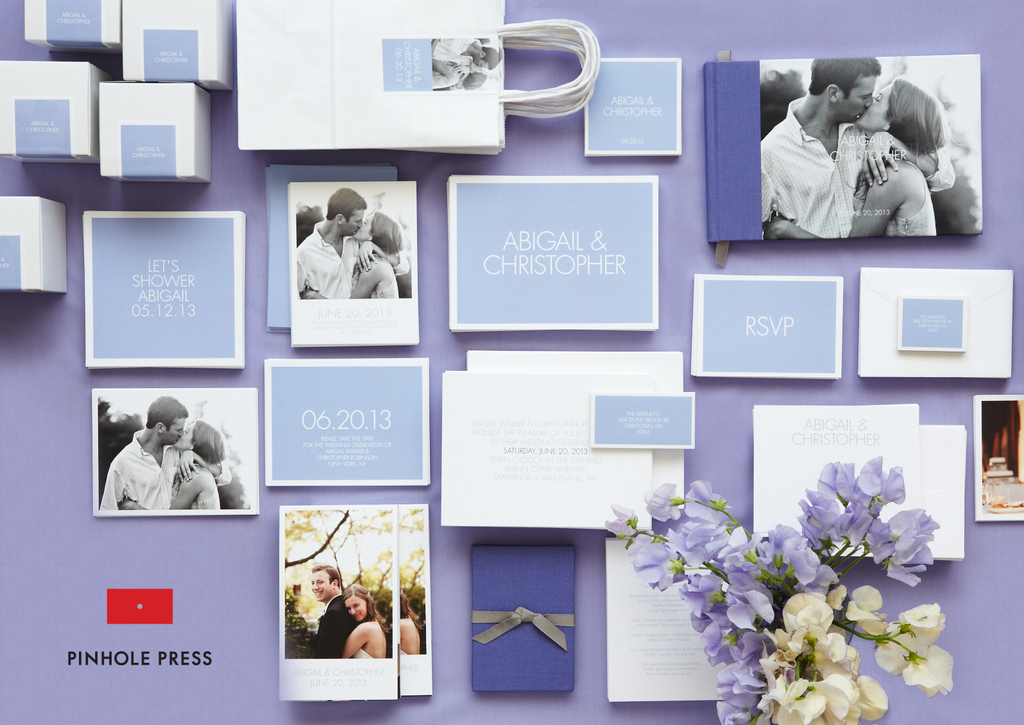 Personalized-wedding-ideas-custom-photo-save-the-dates-wedding-invitations-lavendar-lilac-white.full