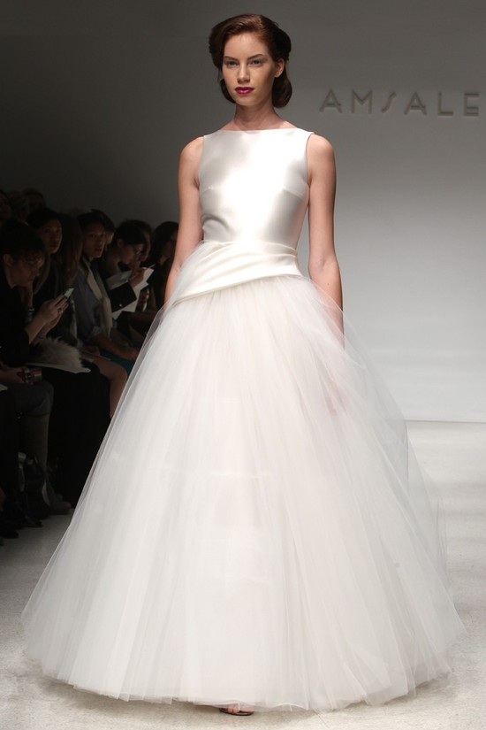 wedding dress fall 2012 bridal gowns amsale 19