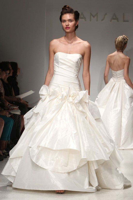 wedding dress fall 2012 bridal gowns amsale 18