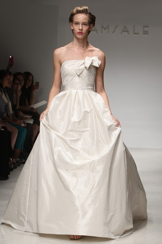 wedding dress fall 2012 bridal gowns amsale 17