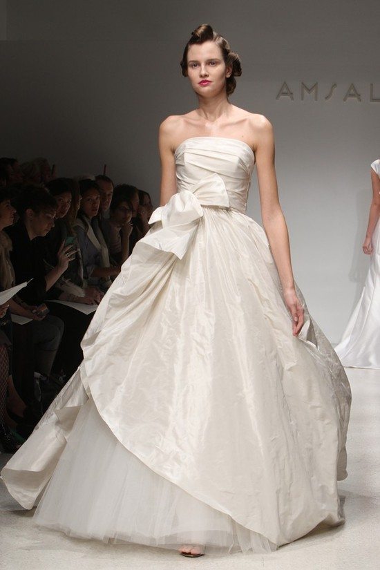 wedding dress fall 2012 bridal gowns amsale 15